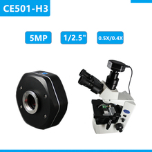 0.5x Zoom Adapter Microscope 5mp C Mount USB Camera