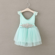 Factory best selling 2017 baby girl party dress children frocks designs