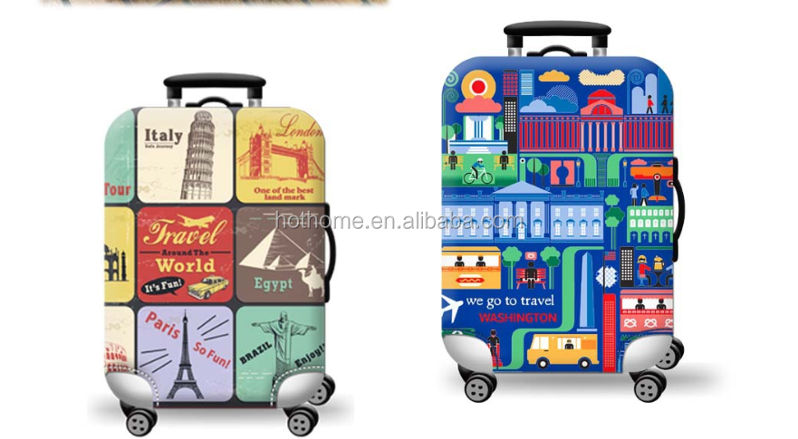 Suitcase Cover Luggage/Luggage Protective/Travel Luggage Cover 100% Polyester