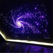 Ceiling starry sky decorative lighting plastic optical fiber lighting