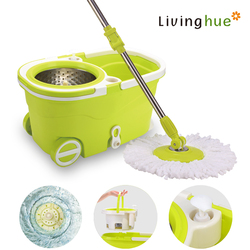 Walkable magic mop with pull handle mini vacuum cleaner whiout power tv mall home shopping