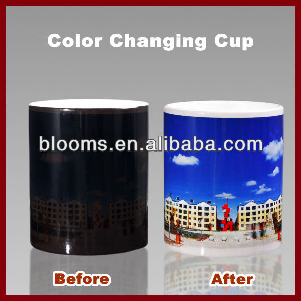 11oz Ceramic Color Changing Cup