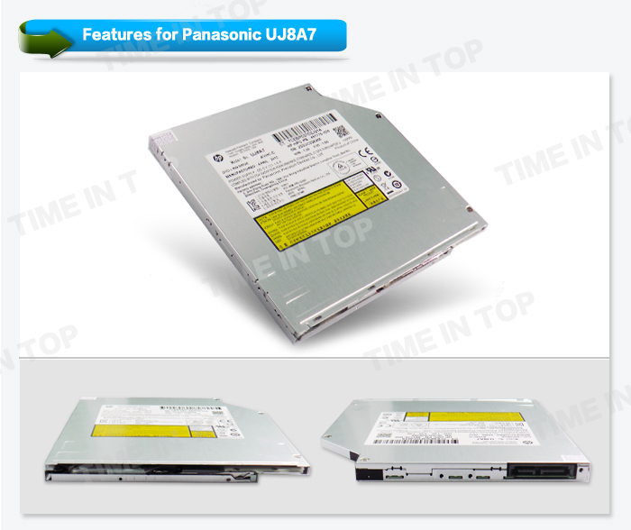 Panasonic UJ8A7 Super Slim Slot load DVD RW Drive