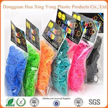 Hua Xing Yong 2014 very hot Cheap DIY Crazy Loom Bands Wholesale Large In Stock