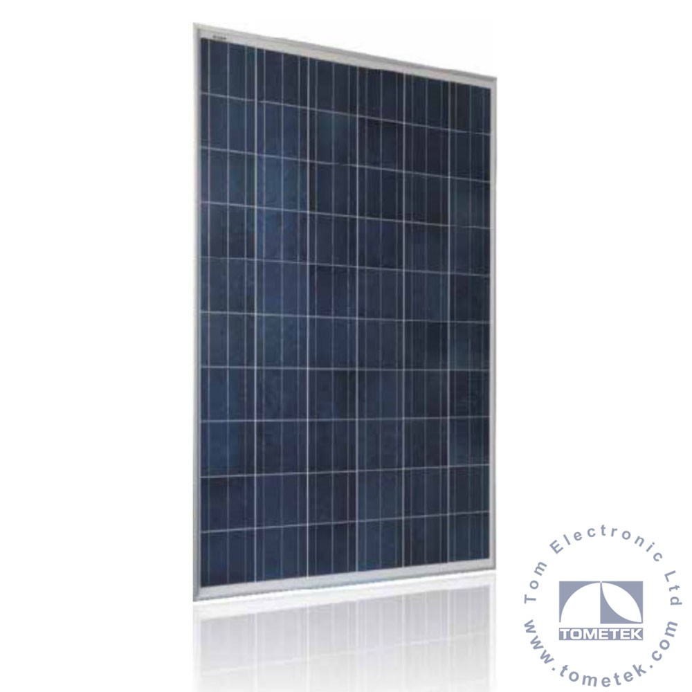 High reliability 72 Cell poly solar panels with TUV / UL / SONCAP for photovoltaic power plant