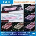 37keys Double injection PBT backlight keycap for mechanical keyboard