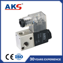 2V025-06/ 08 two way direct acting air solenoid valve DC24V AC220V solenoid switch valve 2/2 normally closed