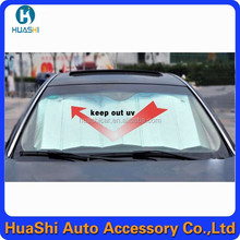 bubble front car sun shade car automatic side window sun shade car cover sun shade aluminum windshield
