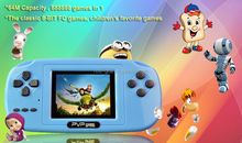 8 bit handheld game player for PVP-game 2.5 with 72 retro games gaming console
