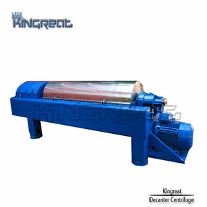 Model PDC Continuous Decanter Centrifuge Soybean Oil Extraction Machine