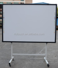 magnetic light 82inch interactive whiteboard ceramic surface 4:3 ratio whiteboard