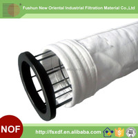 China suppliers PP Non woven dust filter bag , Sack filter for Industrial