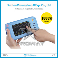 "Hot Seller PPM-J9000I Handheld Digital Portable Patient Monitor Device with 5"" Color LCD Display"