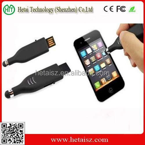 screen touch pen shaped usb flash drive, 1gb/2gb/4gb/8gb usb pen drive driver download, touch sreen pen usb 128 gb
