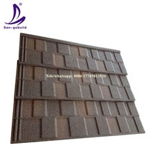 Free Samples!!! colorful sand stone coated galvanized corrugated metal roofing tile Steel Plate Metal Roof Price Philippines