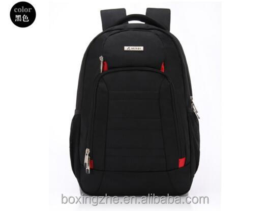 high quality black waterproof nylon 15 15.6 17.3 inch ibm/hp/acer notebook computer laptop backpack travel bag