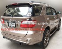 fortuner 2009 body kit accessories