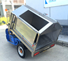 Electric tricycle garbage vehicle