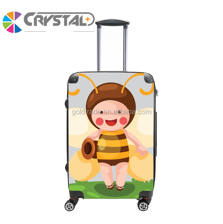 "2017 Customized Design abs pc trolley travel luggage/bag set <strong>20</strong>""24""28""/luggage bag & cases"