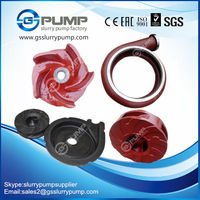 types of slurry pump impellers for gravel slurry pump