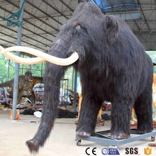 New product! Animatronic Jurassic World Prehistoric Mammoth for Amusement Park