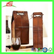 N034 Leatherette Wine Bottle Carrier