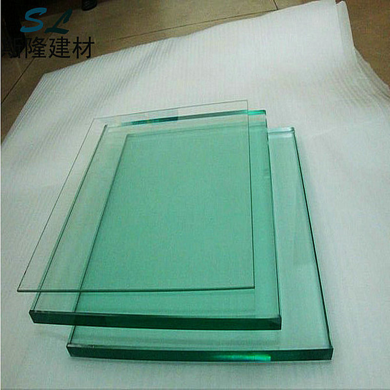 Yantai best price 19mm plain building glass, float glass sheet
