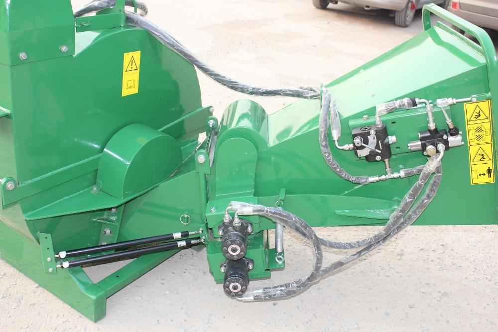 Tractor Wood Chipper Bx62r Pto Driven Hydraulic Feeding