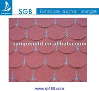 Scale Pattern Roofing Shingle