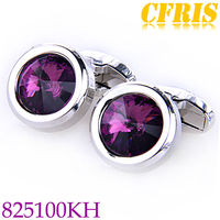2013 High-grade fashion cufflink crystal jewelry