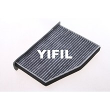 1pc Car Cabin Air Filter Single Active Carbon OEM 1K1819653A High Quality Auto Air Filter Car Air Cleaner Auto Parts