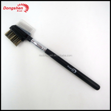 Private label eye brow comb &eye lash brush,personalized makeup brush