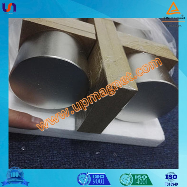 Good quality sintered permanent rare earth cylinder NdFeB magnet for water meter,certificated by ISO9001,TS16949,CE,SGS,RoHS