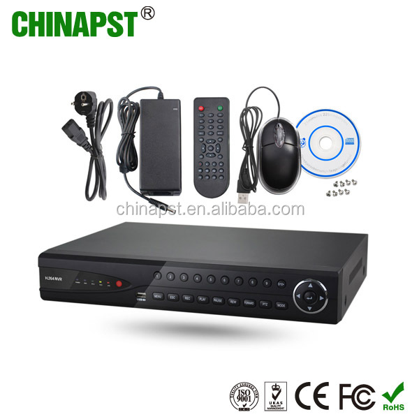 High quality CCTV security system ip camera network video p2p 4CH 1080P ip camera 5MP NVR PST-NVR204
