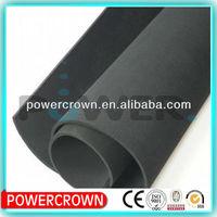 one side adhesived rubber foam insulation sheet/rubber foam board insulation china manufacturer