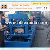colored steel roof tile ridge cap machine