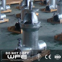 WFE API Stainless Steel Butt Weld Pressure Seal Gate Valve with bypass valve