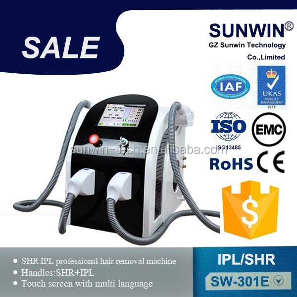 Use for all skin types of laser hair removal machine permanent hair removal machine