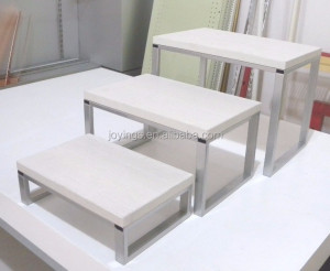 Multifunctional Powder Coating Design Counter Top Nesting Table