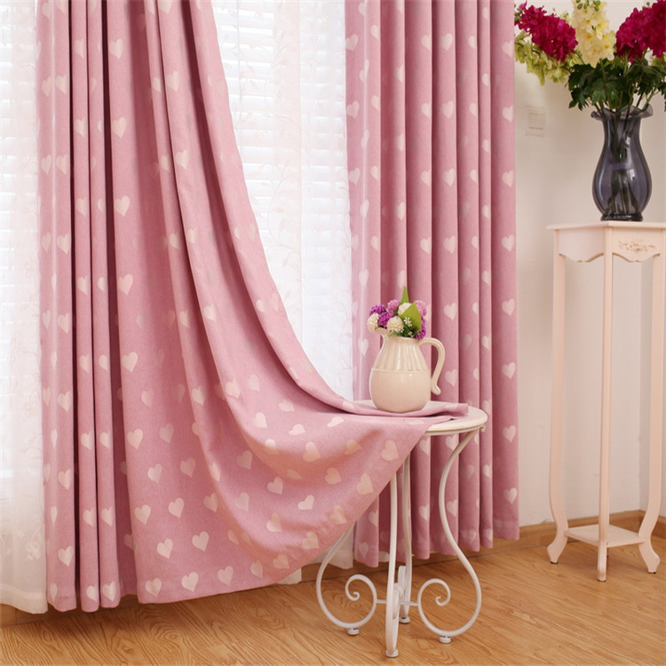 ready goods latest fancy curtain fashion designs for kids room