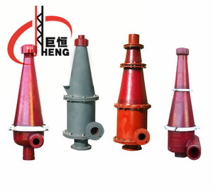Petroleum machinery parts ISO9001 oil drilling industry polyurethane hydrocyclone