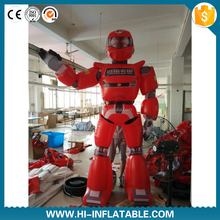 Best quality giant inflatable robot cartoon,inflatable cartoon robot