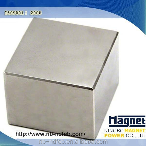 china mmm 100 mmm cheap permanent cube ndfeb magnet/block generator magnets/block magnet in china