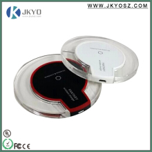 Fast Charging Qi Wireless Charger For Samsung S6 , Nokia Lumia /cell phone wireless charger/letv le 1s wireless charger