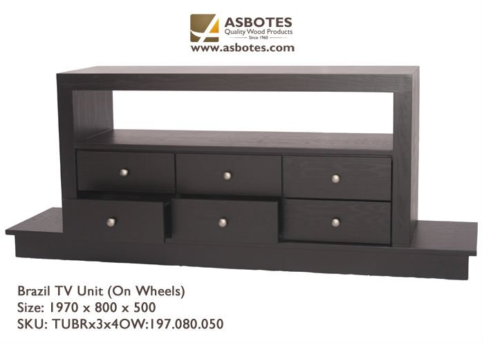 TV Stands - Entertainment Units Brazil Plasma Unit