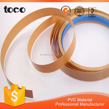 High Glossy PVC Edge Banding Matching UV Board,decorative wood wall edge trim