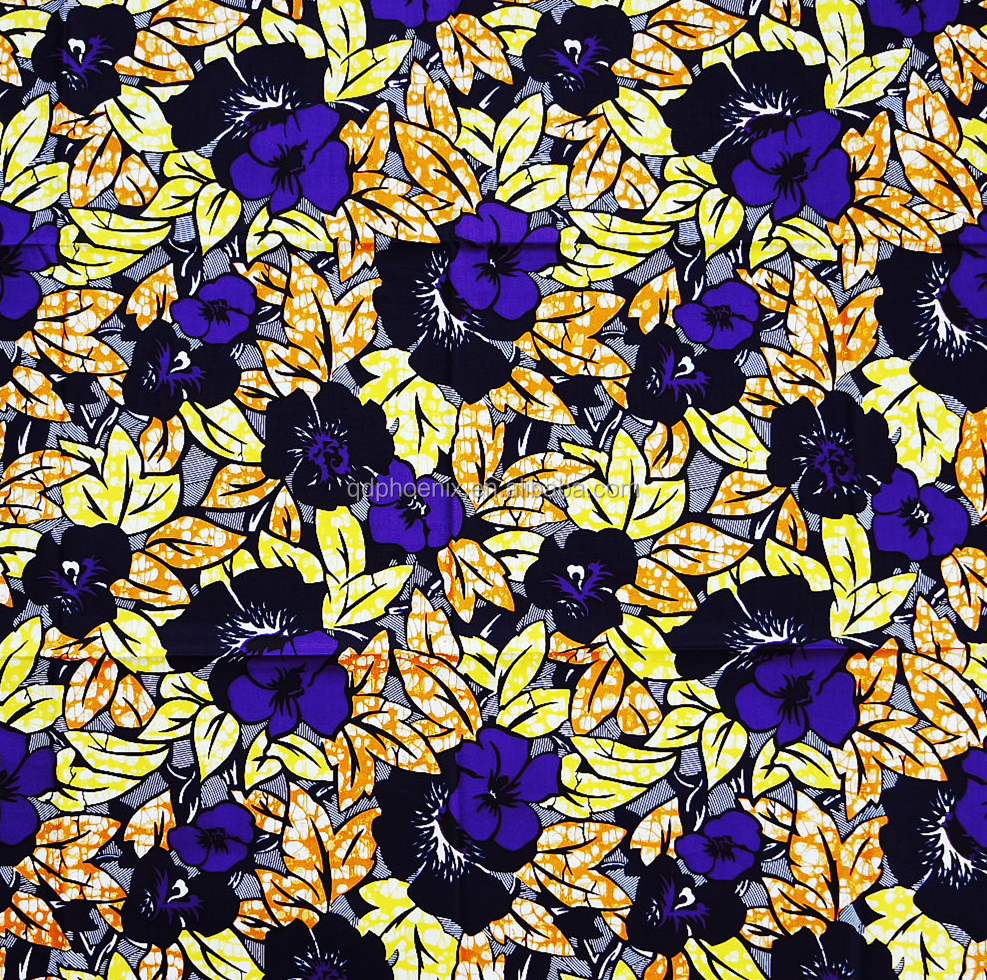high quality real wax african fabric super dutch hollandaise wax fabric