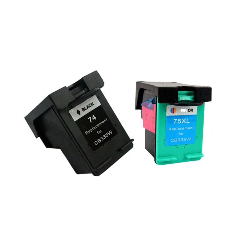 for hp74xl 75xl compatible inkjet cartridge for hp Photosmart C4280 All-in-One Printer