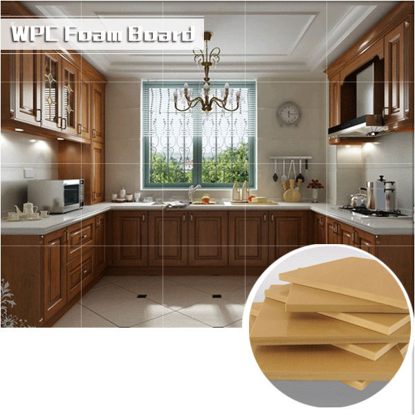New furniture board-waterproof wpc cabinet foam board