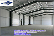 light steel industrial iron structure building